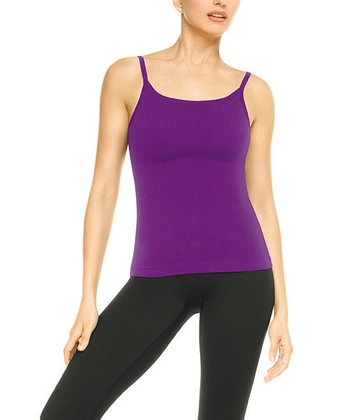 Ribbed Cami - Impulse Purple