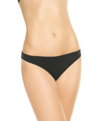 But…Naked Thong - Black