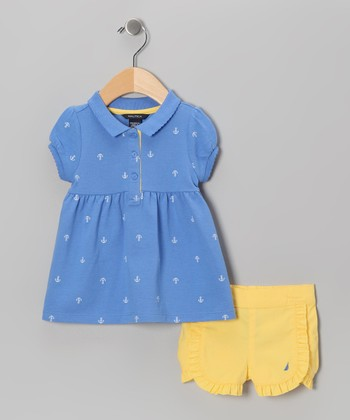 Cornflower Tunic & Shorts - Girls