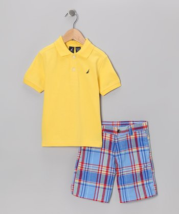 Citrus Polo & Shorts - Toddler