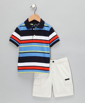 Dragonfly Polo & Shorts - Infant