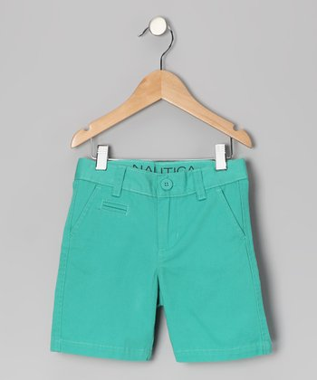 Kingfisher Flat-Front Shorts - Toddler