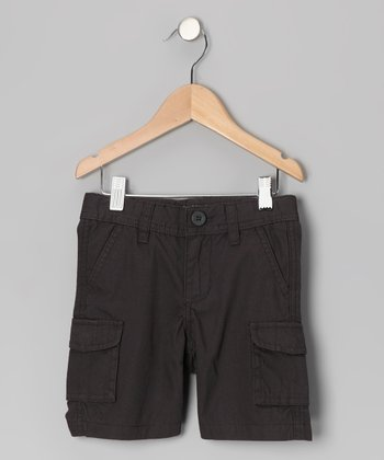 Carbon Cargo Shorts - Toddler