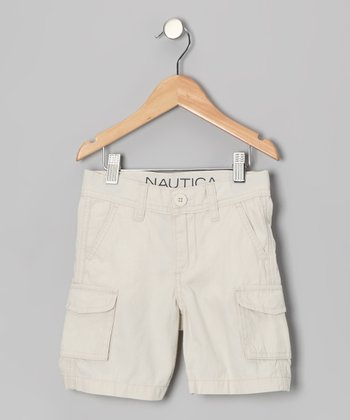 Cement Cargo Shorts - Boys