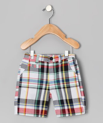 Newport Plaid Shorts - Toddler