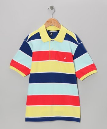 Vitamin C Stripe Polo - Toddler