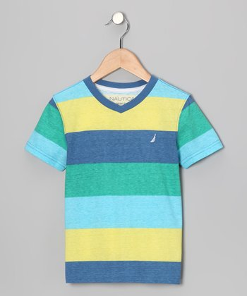 Kingfisher Stripe Tee - Boys
