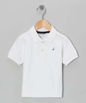 Sail White Polo - Boys