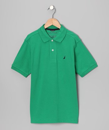 Jelly Bean Solid Polo - Boys
