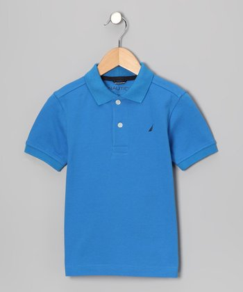 Dragonfly Solid Polo - Boys