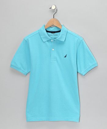 Blue Mist Polo - Boys