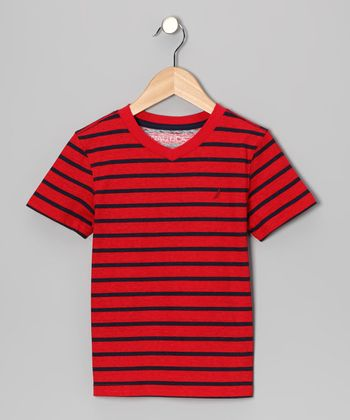 Holly Stripe Tee - Boys