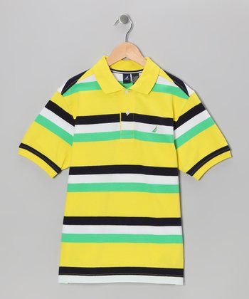 Firefly Stripe Polo - Boys