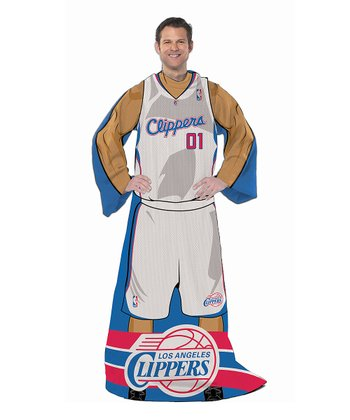 Los Angeles Clippers Sleeved Blanket