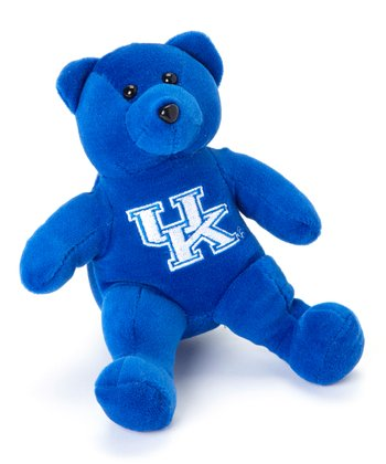 Kentucky Wildcats Blue Plush Bear