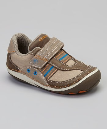 Brown & Blue Stripe SRT SM Dalton Shoe