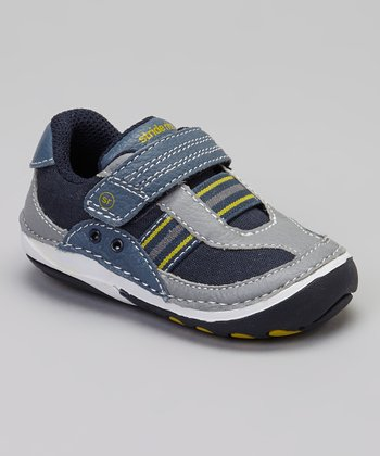 Navy & Yellow Stripe SRT SM Dalton Shoe