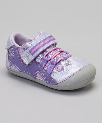 Purple & Pink Floral SRT SM Stephanie Sneaker