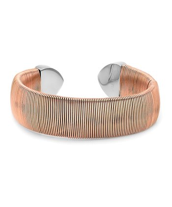 Rose Gold Wire Cuff