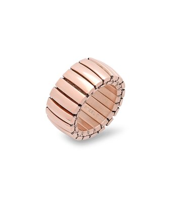 Rose Gold Stretch Bar Ring