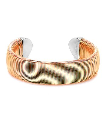 Rose Gold Wire Cuff Bracelet