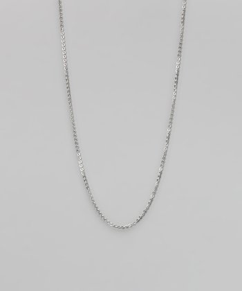 Silver Stainless Steel Link Chain
