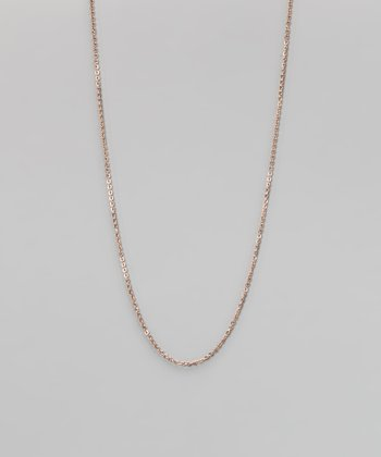 Rose Gold Stainless Steel Link Chain