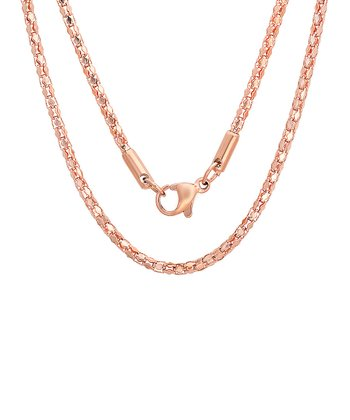 Rose Gold Fancy Necklace