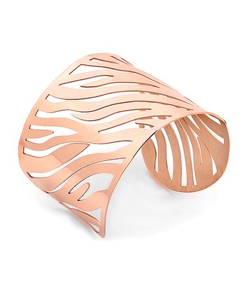Rose Gold Cutout Bracelet