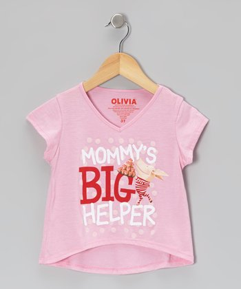 Pink 'Mommy's Big Helper' Tee - Toddler