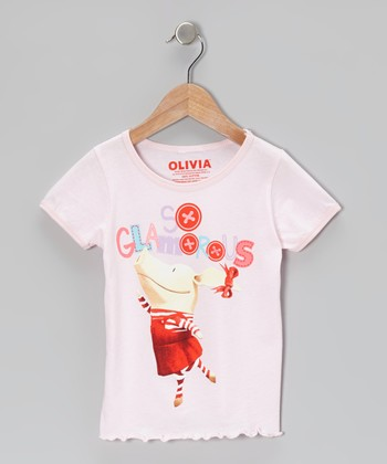 Pale Pink 'So Glamorous' Tee - Toddler