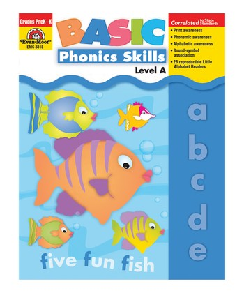 Basic Phonics Skills Paperback: Level A