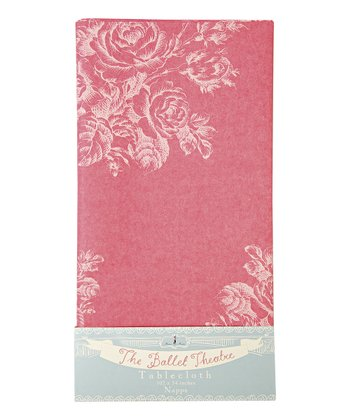 Little Dancers Ballet Paper Tablecloth