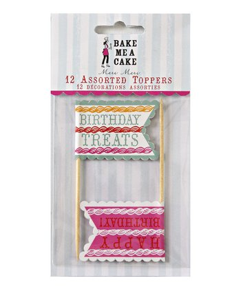 Birthday Treat Topper Set