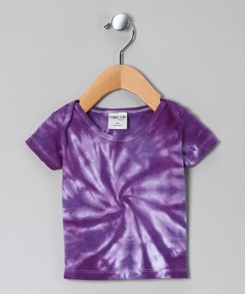 Purple Tie-Dye Tee - Infant