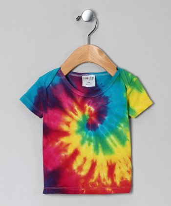 Rainbow Tie-Dye Tee - Infant