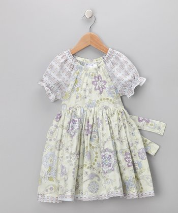 Lavender Blues Peasant Dress - Infant