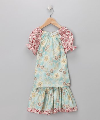 Asian Splendor Peasant Top & Skirt - Infant, Toddler & Girls
