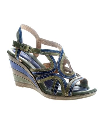 Blue Ansonia Sandal