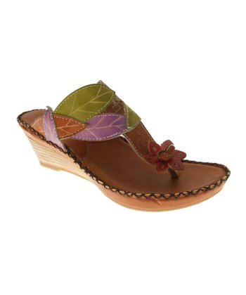 Camel Carolyn Wedge Sandal