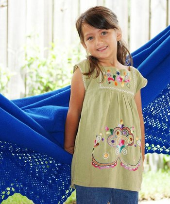 Linden Green Maya Tunic - Infant, Toddler & Girls