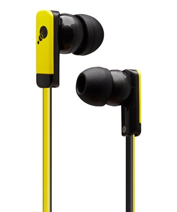 Yellow & Black Razor II Earbuds