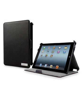 Black Armour Folio Case/Stand for iPad Mini