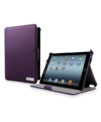 Purple Armour Folio Case/Stand for iPad Mini