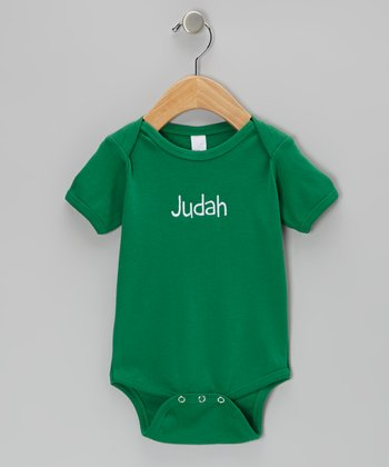 Green Personalized Bodysuit - Infant