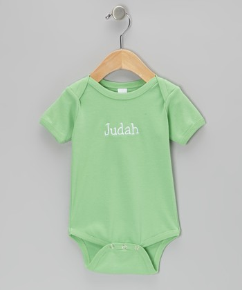 Lime Personalized Bodysuit - Infant