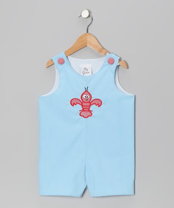 Blue Crawfish Shortalls - Infant & Toddler