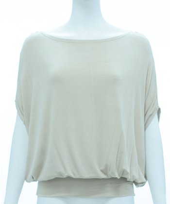 Saddle Kiara Cape-Sleeve Top - Women