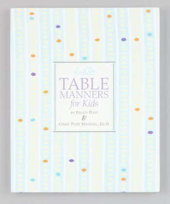 Emily Post's Table Manners for Kids Hardcover