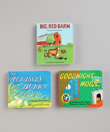 Big Red Barn, The Runaway Bunny & Goodnight Moon Board Book Set